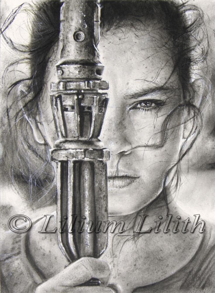 Daisy Ridley by LiliumLilith